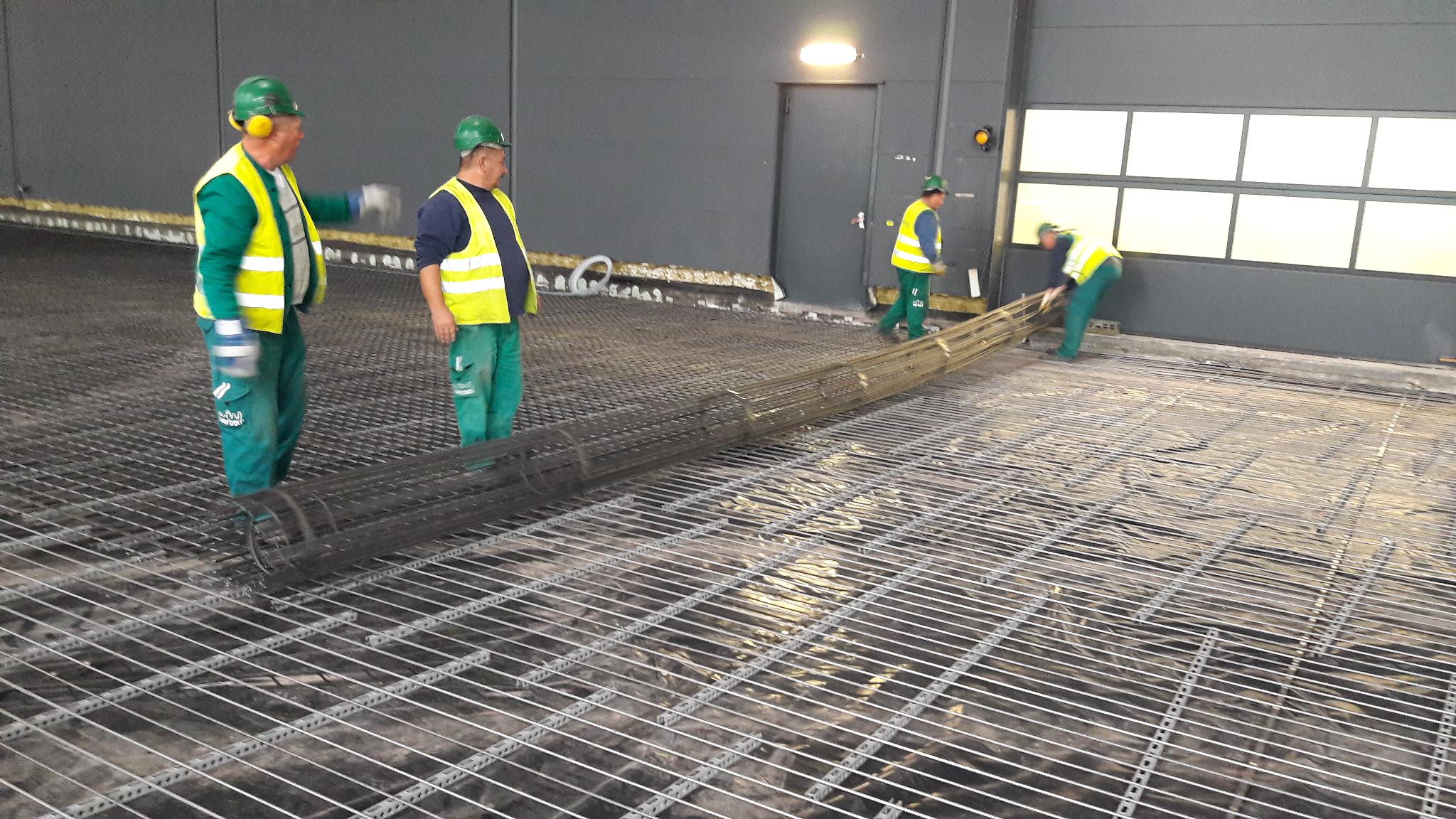 BAMTEC tekercs , betonacel